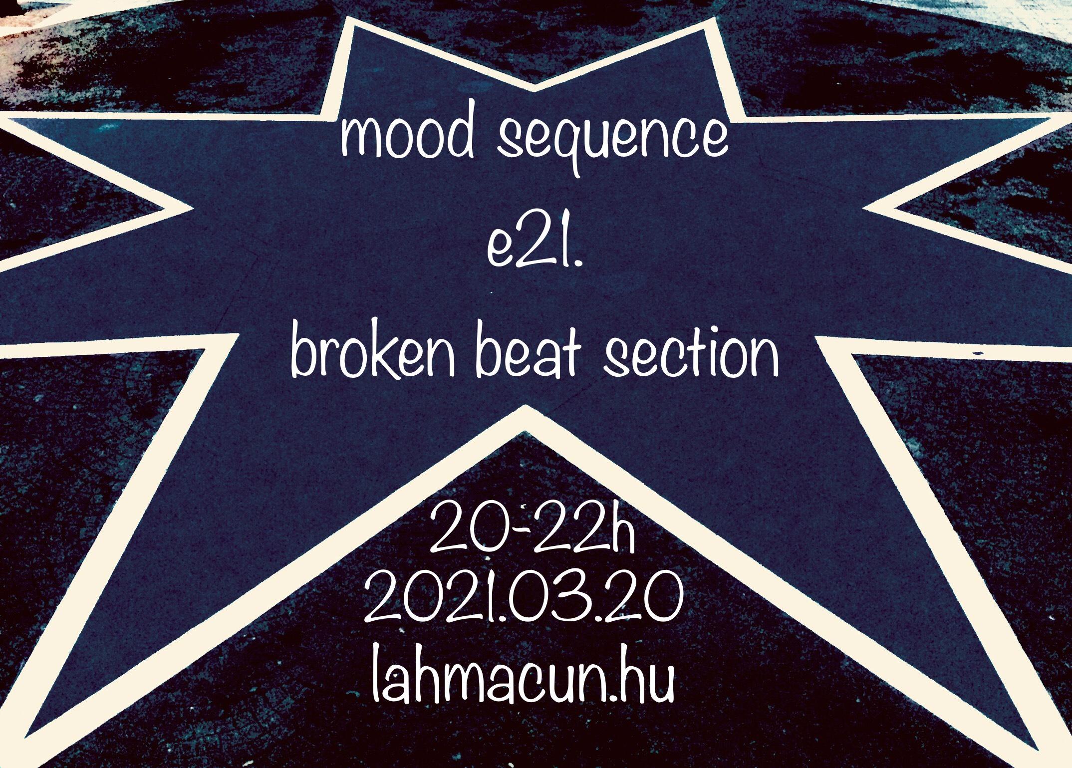 broken beat section